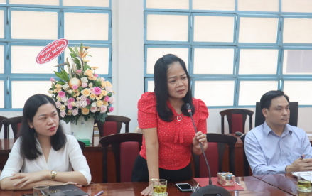 Công bố Quyết định nghỉ  hưu hưởng chế độ bảo hiểm xã hội Hoang Thi Bac _ 3