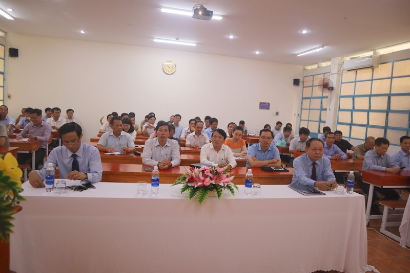 Khai giảng Lớp Bồi dưỡng lãnh đạo, quản lý cấp vụ và tương đương 39 2020 _ 1