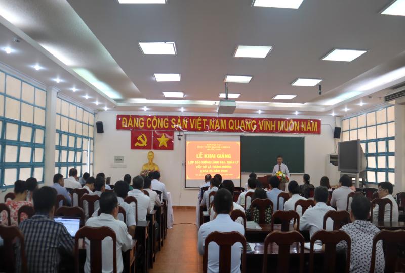Khai giảng Lớp bồi dưỡng lãnh đạo, quản lý cấp Sở và tương tương khóa 25 _ 1
