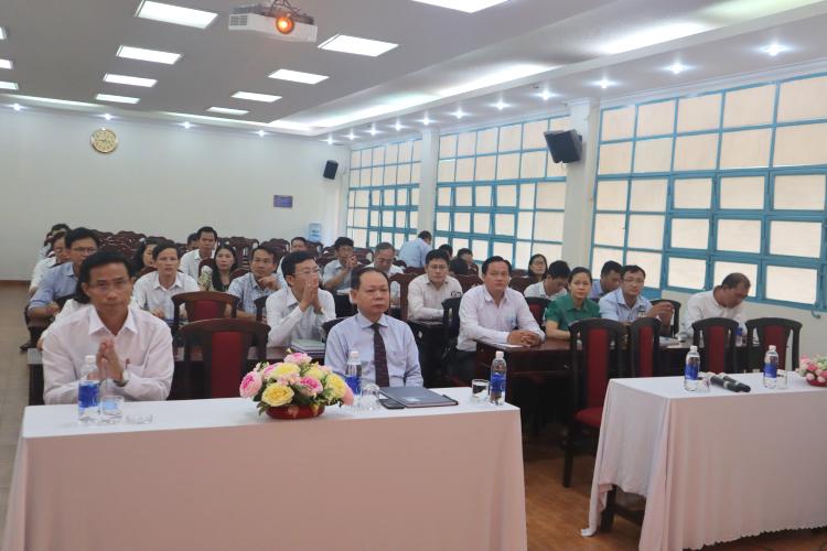 Khai giảng Lớp bồi dưỡng lãnh đạo, quản lý cấp Sở và tương tương khóa 25 _ 2