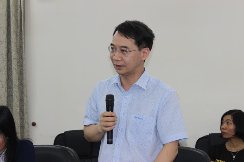 PGS.TS Lương Thanh Cường, Phó Giám đốc Học viện phát biểu tại lễ khai giảng