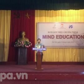 Đồng chí Nguyễn Thiên Tú phát biểu tại chương trình
