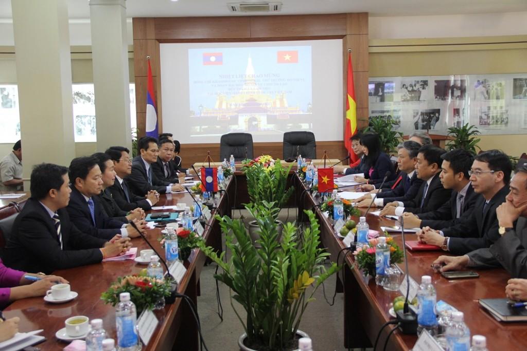 TS. Nguyễn Trọng Thừa, Thứ trưởng Bộ Nội vụ phát biểu chào mừng