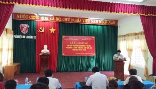 PGS. TS. Thái Thanh Hà, Phó trưởng Ban Đào tạo  Học viện Hành chính Quốc gia phát biểu khai giảng lớp học