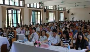 Toàn cảnh buổi khai mạc kỳ thi tuyển sinh đào tạo trình độ thạc sĩ năm 2015 của Học viện Hành chính Quốc gia  tại điểm thi Tp Huế