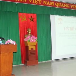 PGS.TS. Lưu Kiếm Thanh - Phó Giám đốc Học viện Hành chính Quốc gia phát biểu bế giảng lớp học