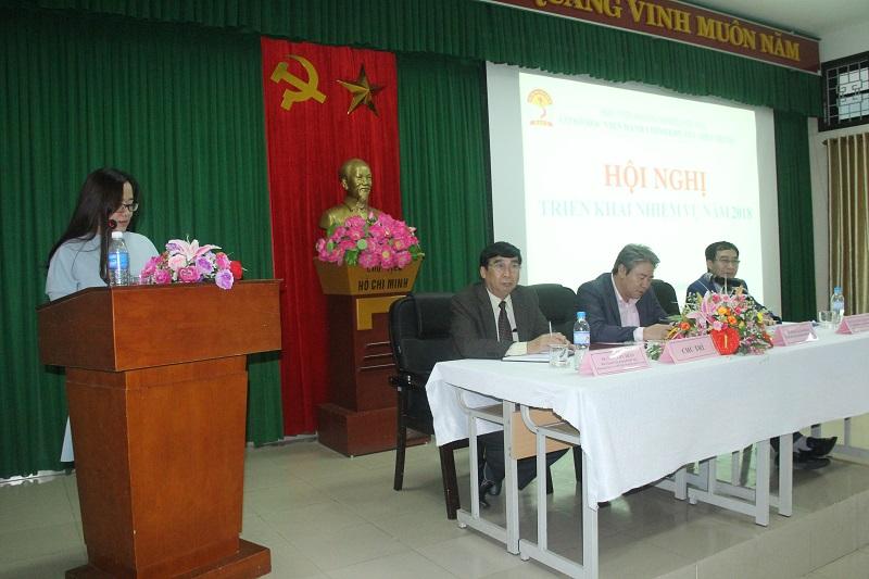Đại diện các Phòng, đơn vị chức năng của Cơ sở Học viện phát biểu thảo luận