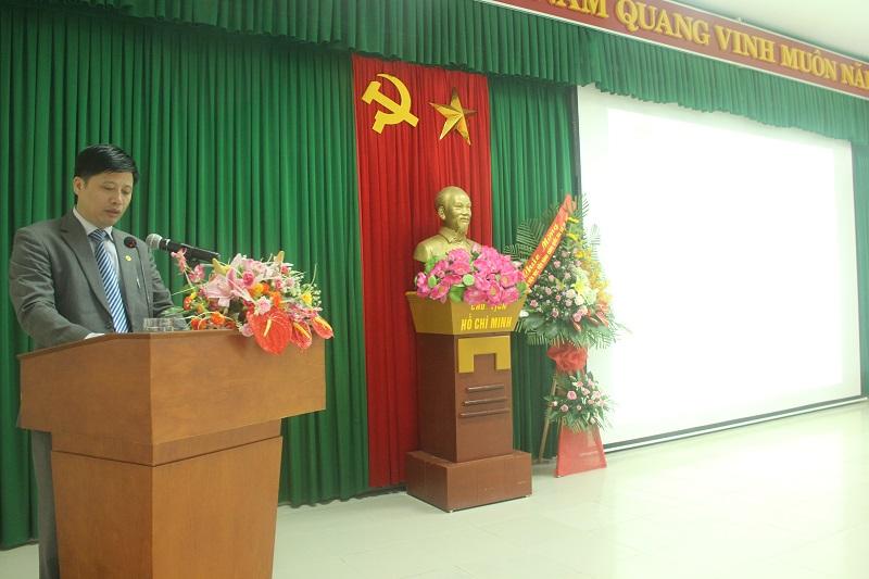 TS.Nguyễn Tiến Đạo – Phó Trưởng Ban Tổ chức Cán bộ Học viện Hành chính Quốc gia công bố Quyết định
