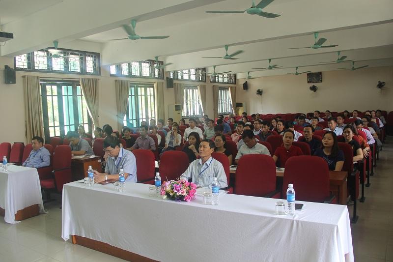 Toàn cảnh buổi khai mạc kỳ thi tuyển sinh tại điểm thi Phân viện Huế