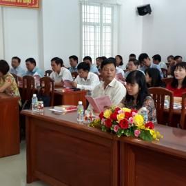 Toàn cảnh buổi lễ Khai giảng