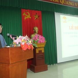 TS. Ngô Văn Trân, Phó Giám đốc Thường trực Phân viện Huế phát biểu bế giảng khóa học