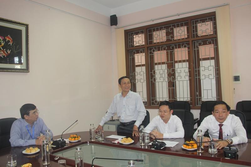 Các đại biểu phát biểu cảm tưởng tại buổi gặp mặt
