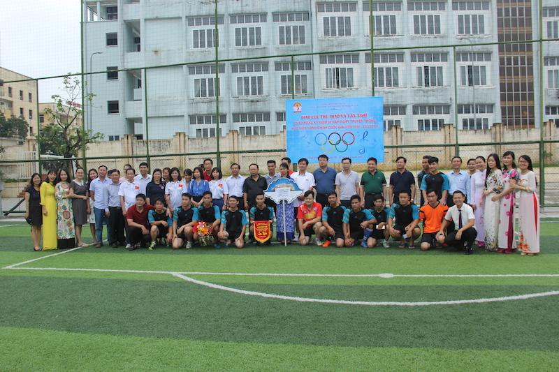 Khai mạc chương trình Giao lưu thể thao và văn nghệ chào mừng kỷ niệm 56 năm ngày truyền thống Học viện Hành chính Quốc gia