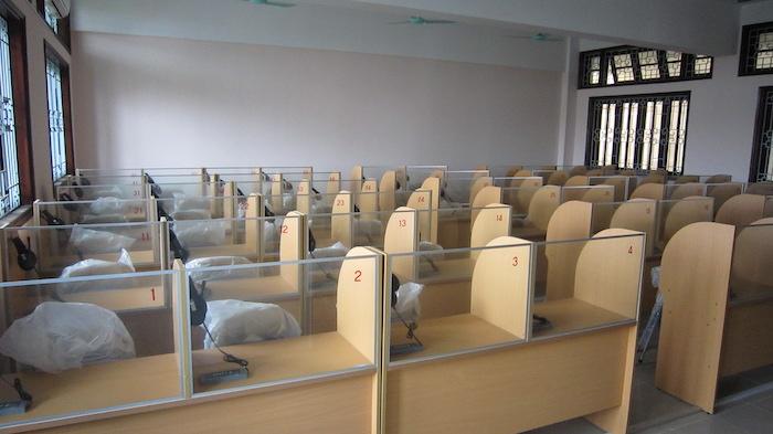 Phòng học ngoại ngữ