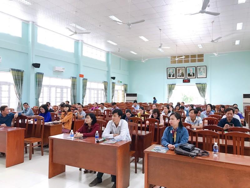 Toàn cảnh buổi Lễ Khai giảng lớp Bồi dưỡng ngạch chuyên viên năm 2020 tại huyện Vân Canh
