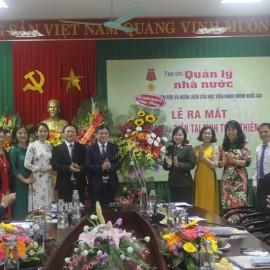 Đảng uỷ, Ban Giám đốc Công an tỉnh Thừa Thiên Huế tặng hoa chúc mừng Tạp chí.