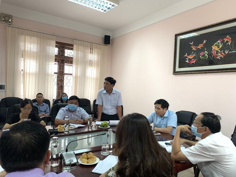 ThS. Đặng Công Minh Tâm – Trưởng phòng Tài vụ - Kế toán phát biểu tại buổi Khai mạc