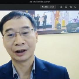 PGS.TS. Lương Thanh Cường – Phó Giám đốc Học viện Hành chính Quốc gia phát biểu tại Hội thảo