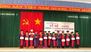 TS. Nguyễn Đăng Quế và TS. Đinh Khắc Tuấn trao bằng