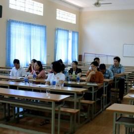 Toàn cảnh lớp học