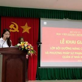 ThS. Lê Kim Loan - Chuyên viên Phòng Quản lý Đào tạo và Bồi dưỡng, Phân viện Học viện Hành chính Quốc gia khu vực Tây Nguyên thông qua các quyết định