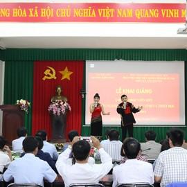 Chương trình văn nghệ chào mừng buổi lễ