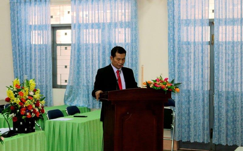 Đồng chí Nguyễn Huy Tiềm  thông qua Nội quy Đại hội