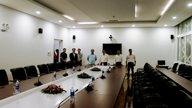 Bộ trưởng Bộ Nội vụ Lê Vĩnh Tân thăm cơ sở làm việc tại Phân viện