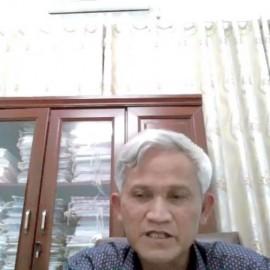 Ông Lê Văn Nuôi - HUV, Phó Chủ tịch Uỷ ban nhân dân huyện Buôn Đôn phát biểu