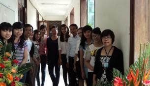 Tập thể giảng viên Khoa Quản lý tài chính công trong ngày Nhà giáo Việt Nam 20/11/2012
