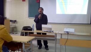 PGS.TS  Trần Văn Giao - Phó Trưởng khoa QL Tài chính công giới thiệu về Khoa và Chuyên ngành QL Tài chính công cho sinh viên KH13