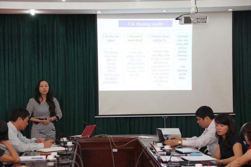 Ths Phạm Thị Thanh Hương - giảng viên Bộ môn Kế toán và kiểm toán công