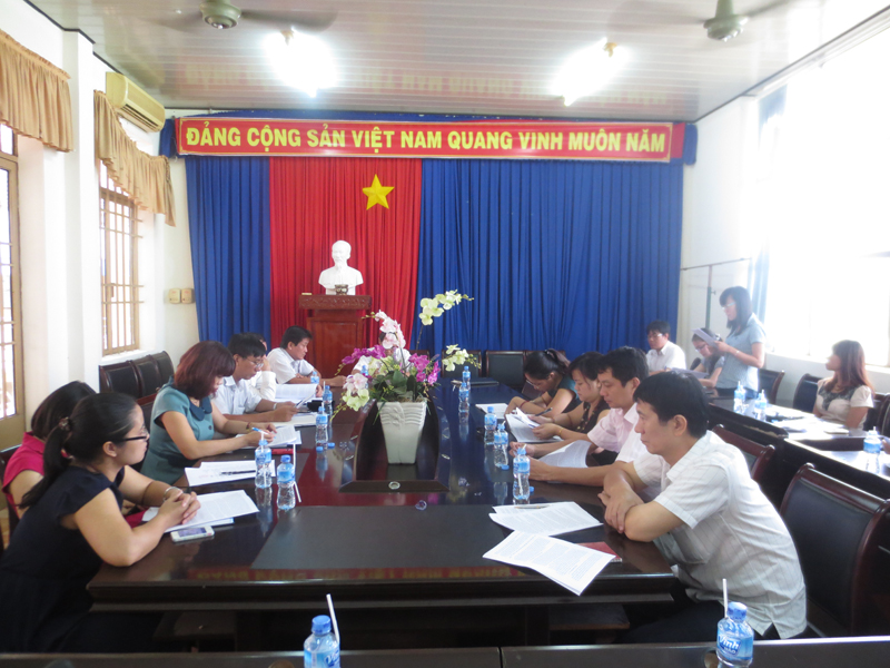 Làm việc tại UBND huyện Xuyên Mộc, tỉnh Bà Rịa Vũng Tàu