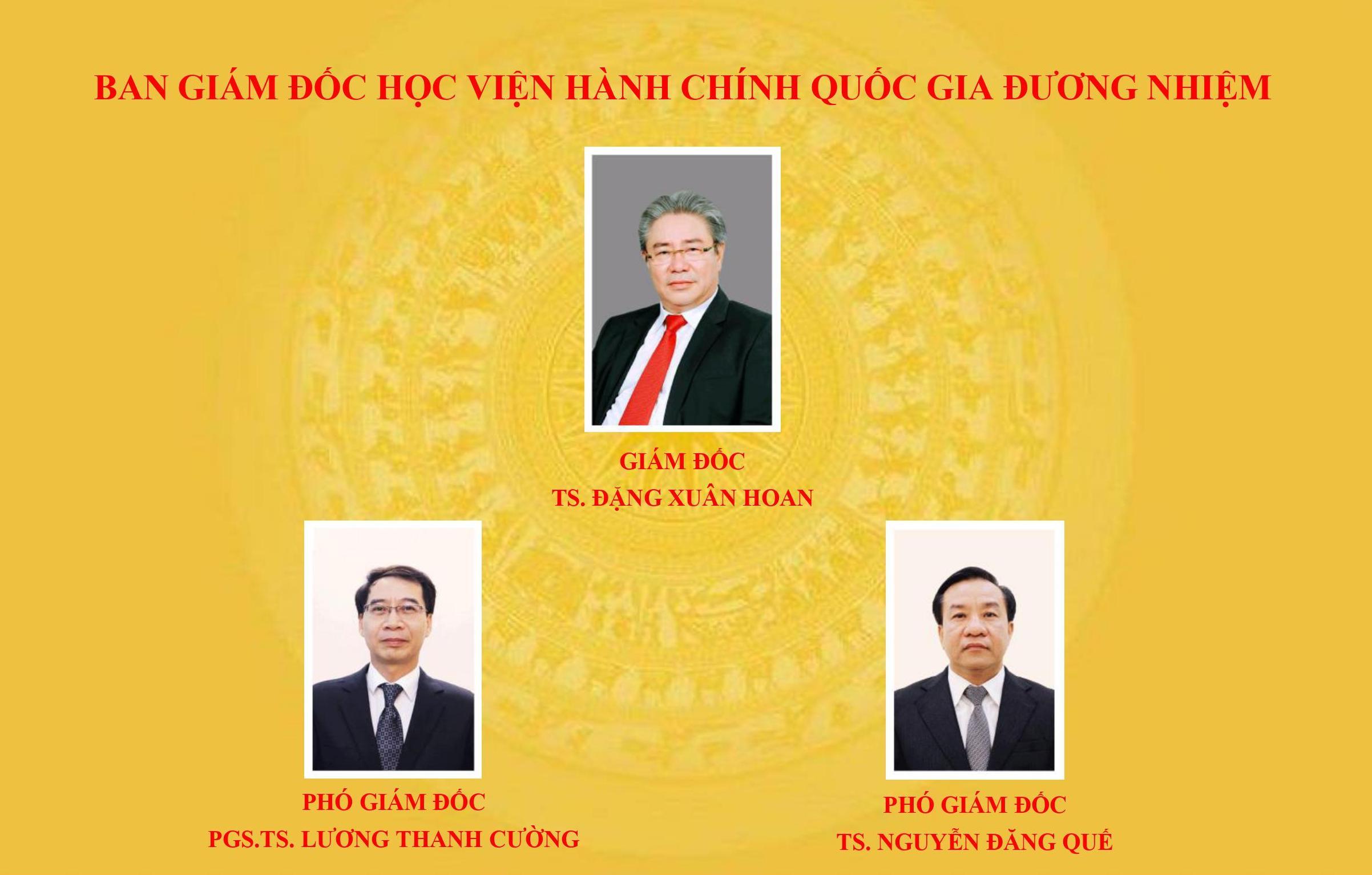 Ban Giam doc Hoc vien