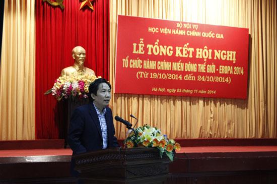 Thứ trưởng Bộ Nội vụ điều hành hội nghị
