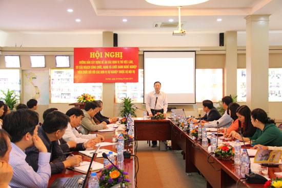 Chuyên viên cao cấp Bùi Huy Hưng hướng dẫn phương pháp xác định vị trí việc làm