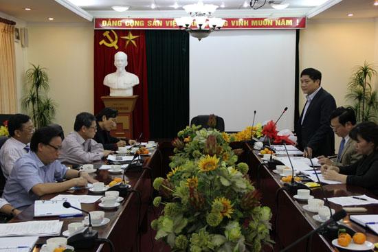 Đồng chí Lê Như Thanh phát biểu nhận nhiệm vụ trên cương vị mới