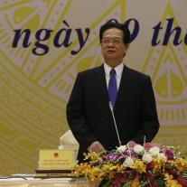 2.Thủ tướng Chính phủ Nguyễn Tấn Dũng phát biểu chỉ đạo Hội nghị