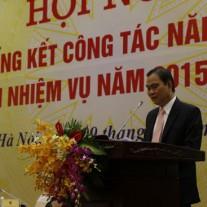 Bộ trưởng Bộ Nội vụ Nguyễn Thái Bình phát biểu tại Hội nghị