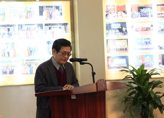 PGS.TS. Lưu Kiếm Thanh, Phó Giám đốc Học viện ôn lại truyền thống hào hùng 70 năm của QĐNDVN.