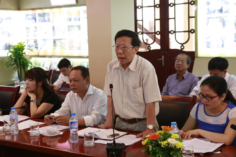 Các đại biểu phát biểu đóng góp ý kiến vào dự thảo báo cáo và đề xuất ý kiến về triển khai nhiệm vụ 6 tháng cuối năm 2016