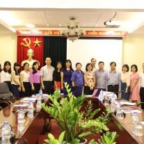 Các cán bộ, giảng viên của Học viện tham dự buổi chia sẻ  về quản trị địa phương của Nhật Bản