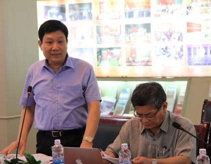 TS. Lê Như Thanh, Phó Giám đốc Thường trực Học viện phát biểu tại Tọa đàm