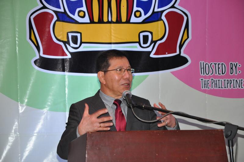 Ông Orlando Mercardo, Tổng thư ký EROPA phát biểu tại Hội nghị