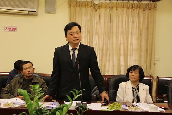 TS. Hồ Huy Thành trình bày tham luận tại Hội thảo