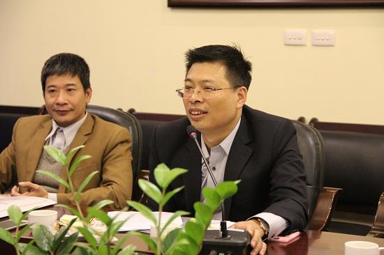PGS.TS. Doãn Ngọc Hải trao đổi ý kiến tại Hội thảo