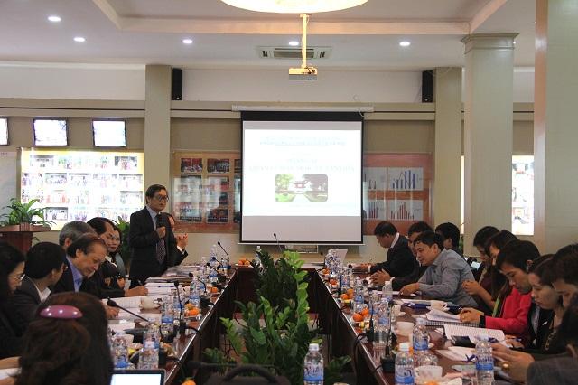 PGS.TS. Lưu Kiếm Thanh - Phó Giám đốc Học viện phát biểu chỉ đạo Hội thảo