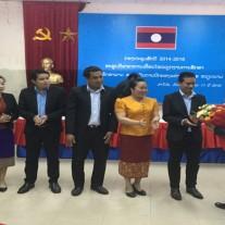 Ban cán sự sinh viên Khóa VII chúc mừng Ban cán sự sinh viên Khóa VIII