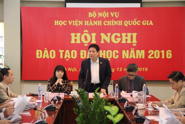 TS. Lê Như Thanh – Phó Giám đốc Thường trực Học viện, phát biểu chỉ đạo Hội nghị
