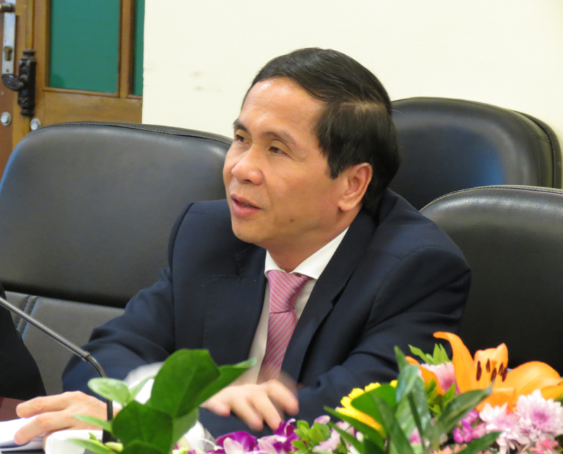 PGS.TS Triệu Văn Cường, Thứ trưởng Bộ Nội vụ, phụ trách, điều hành Học viện Hành chính Quốc gia
